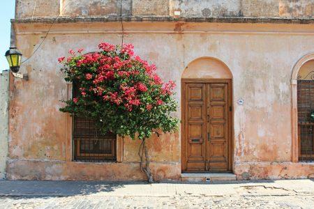old door in colonia uruguay
