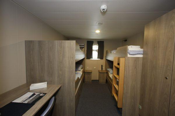 Quadruple Porthole Room